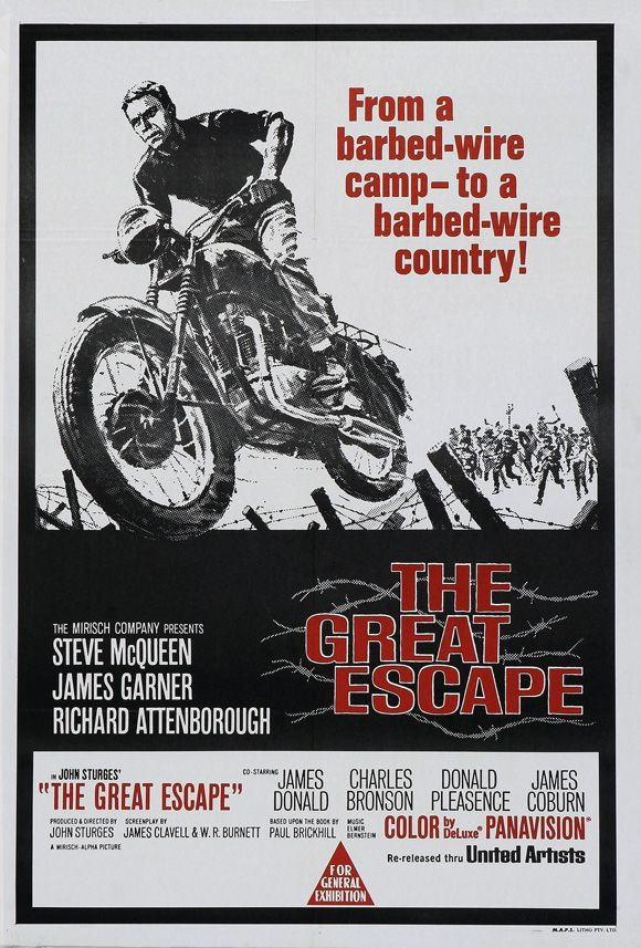 one of my favorite movies: The Great Escape movie 1963