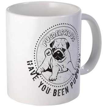 Have You Been Pugged? Mugs. By pugdelicious.com http://www.cafepress.com.au/deliciouspugshop.1721837616