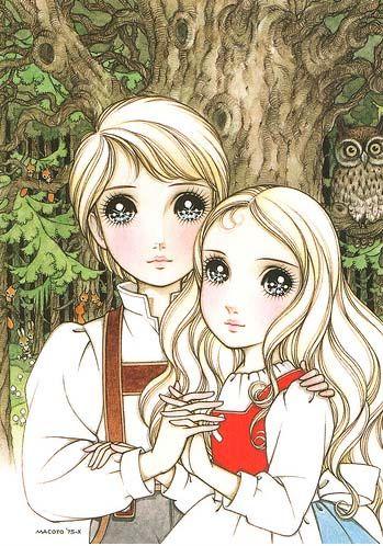 Hansel  Gretel #shojo #vintage #manga