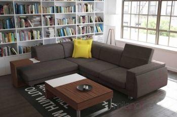 Γωνιακός καναπές Eduardo, Σαλόνια : Καναπέδες,