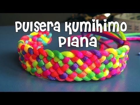 Pulsera en zig zag | 5 colores | Kumihimo | DIY - YouTube
