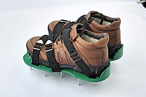 Austins Agricultural Equipment Lawn Aerator Shoes With 3 Durable Straps And >>> Click image to review more details.