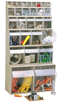 Clear Tip Out Bins (QTB Series) Follow the link to see all the available accessories.