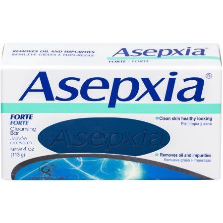Asepxia Forte Cleansing Bar Soap, 4 oz, Multicolor on my list for skin care products to get .
