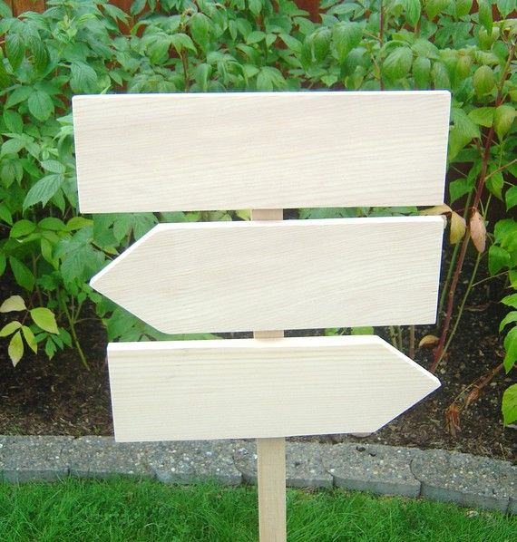 DIY Wedding Sign Kit, Unpainted, Rustic, Raw Wood. Wedding Directional Sign and Arrows.  You Design Your Sign.