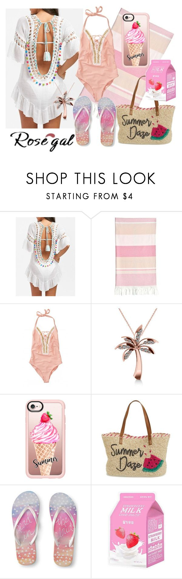 """Cover up kaftan"" by subvilli on Polyvore featuring Linum Home Textiles, Beach Bunny, Allurez, Casetify, Nordstrom, Aéropostale and Charlotte Russe"