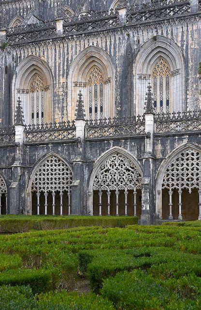 Three Windows, Batalha Monastery, Portugal [one of seven wonders of Portugal]