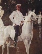 Portrait of Prince Felix Yussupov (1887-1967) 1903  by Valentin Aleksandrovich Serov