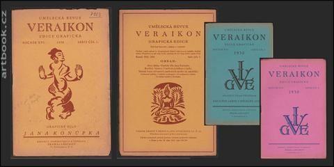 VERAIKON. Umělecká revue. Grafická edice. - 1930, roč. XVI.