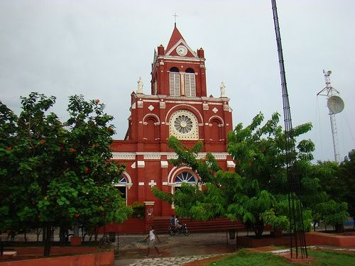 Cathedral in Jeremie, Haiti