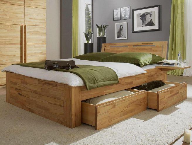 Ideal Schlafzimmer komplett massivholz ein Bett aus Holz ist