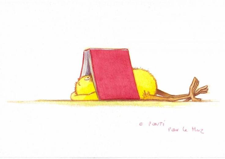 Lire, c'est vivre. Claude Ponti