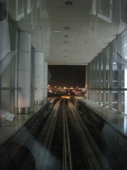The Aerotrain at Kuala Lumpur Airport