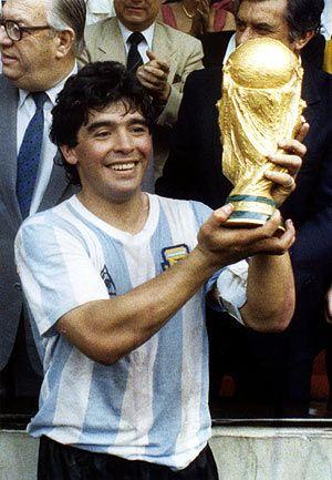 Argentina, Campeones del Mundo, 1986, Diego Maradona