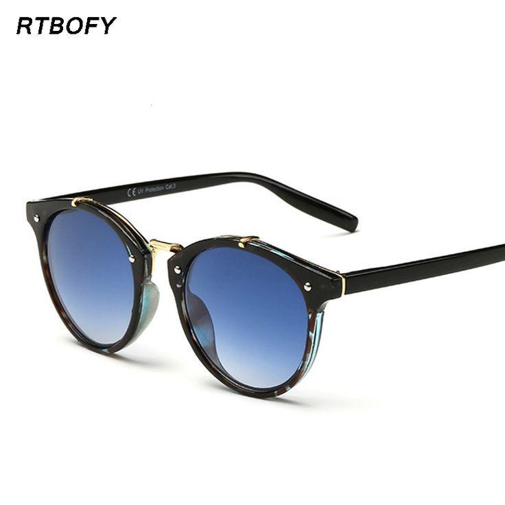 $4.02 (Buy here: alitems.com/... ) New 2016 Retro Sunglasses Women Brand Designer Sun Glasses Round Vogue Shades Cute Colorful Eyewear -XFT1610 for just $4.02