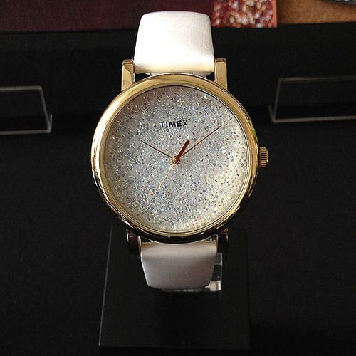 all en web gb dreamy tone strap sparkly yellow watch category online gold watches shop leather swarovski