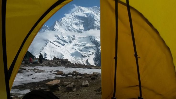 Himalaje, widok na Annapurne III