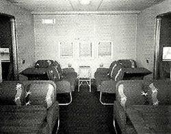 B-314 Main Lounge as Dining Salon (Port Side)