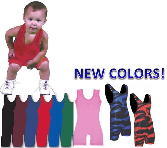 Infant \u0026 Toddler Wrestling SINGLETS