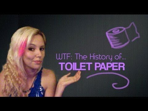 WTF Facts - The History of Toilet Paper