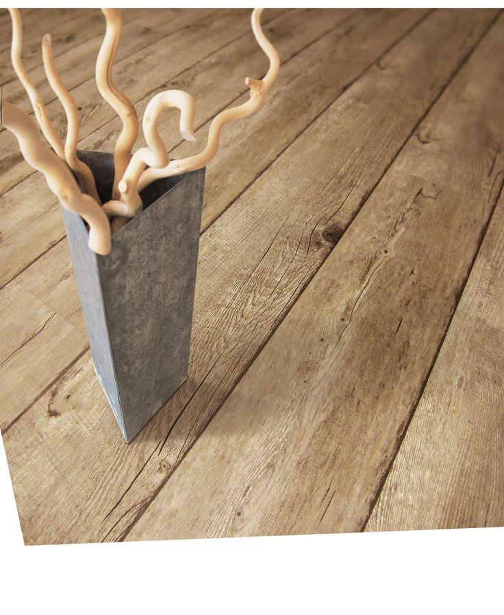 Gerflor Vinylböden | Vinyl-PVC selbst Klebeboden | Senso Rustic 3D Style (0,20mm Nutzschicht) | Designbelag Muscade | Feuchtraumboden | 1-St...
