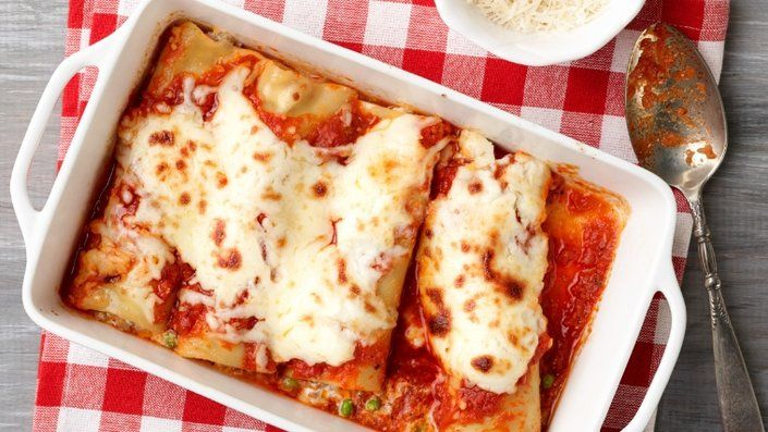 You'll find the ultimate Giada De Laurentiis Baked Manicotti with Sausage and…