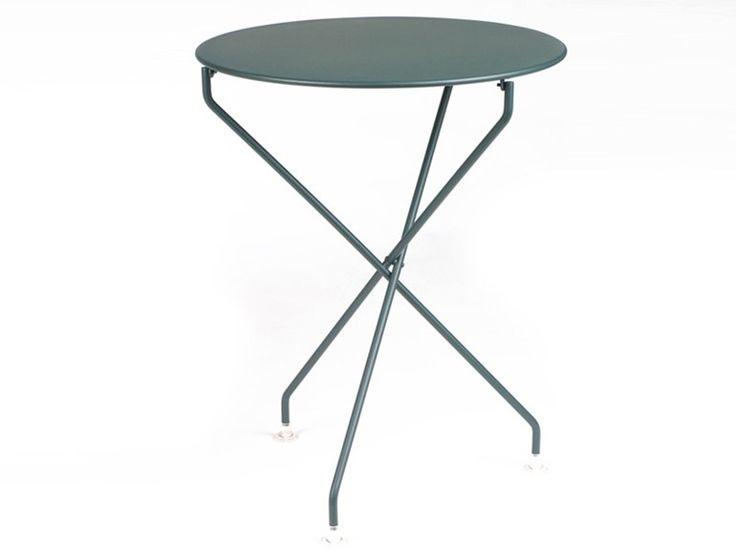 Tavolino da giardino alto rotondo TERTIO by FERMOB