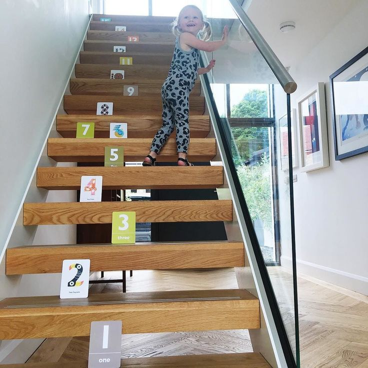 C O U N T I N G This is how Orla learnt to count walking up stairs slight problem we are stuck on 15! How did your little ones learn ideas welcome? . . . #the_jam_tart #kidstoys #flashcards #numberfun #numbers #counting #learntocount #preschool #toddlerfun #toddlerplay #typography #designforkids