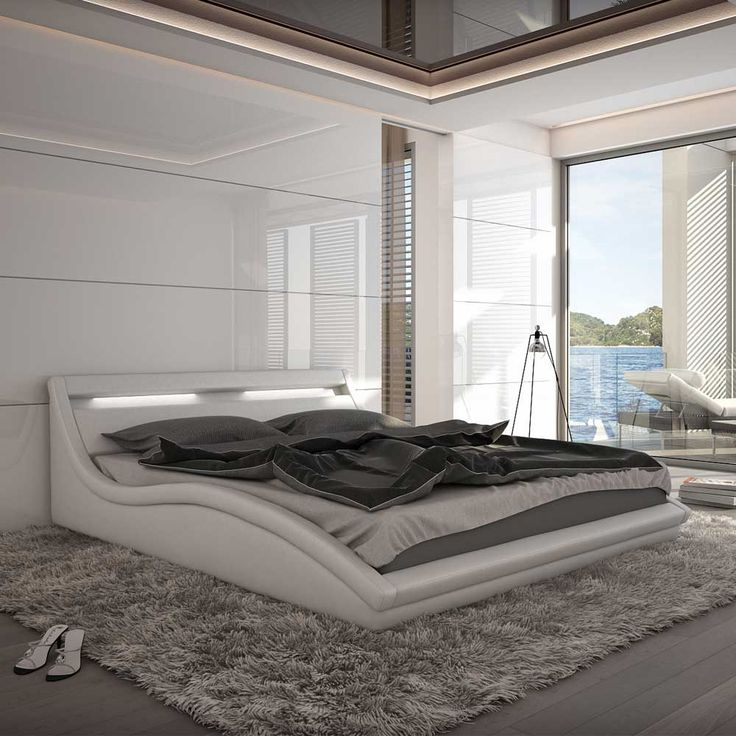 Die besten 25+ Bett weiß 180x200 Ideen auf Pinterest Bett