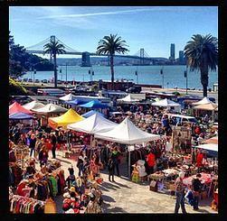Treasure Island Flea, San Francisco,Flea Market, food trucks and wine last full weekend of the month