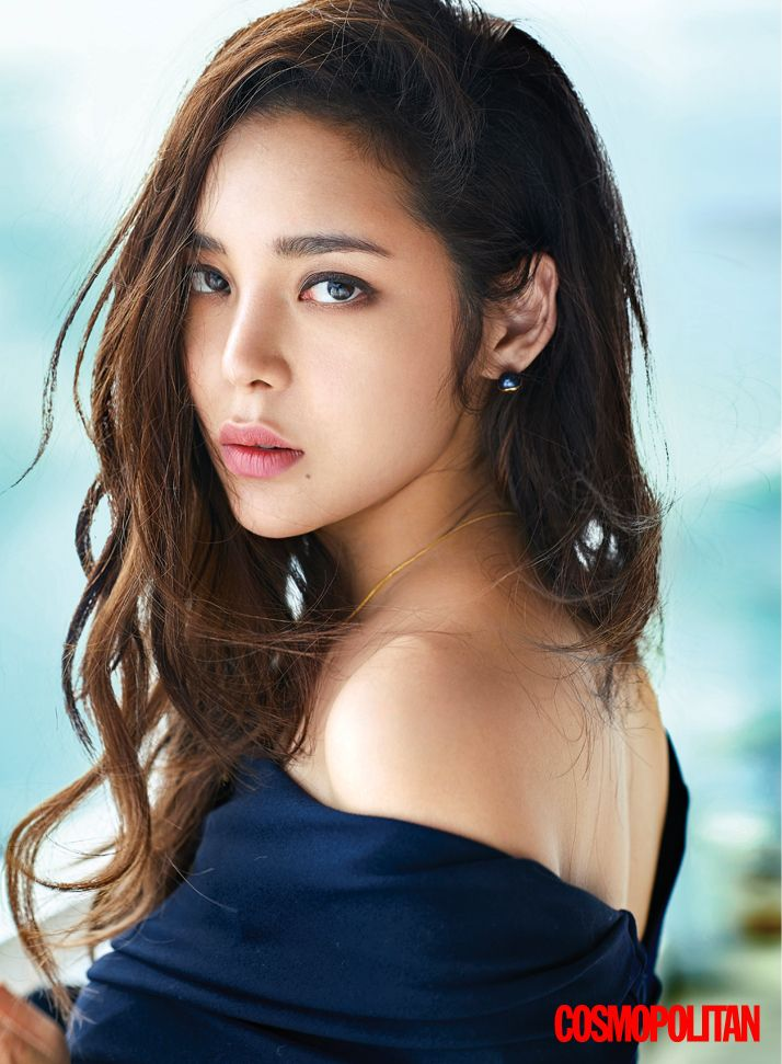 Park Si Yeon - Cosmopolitan Magazine December Issue '16