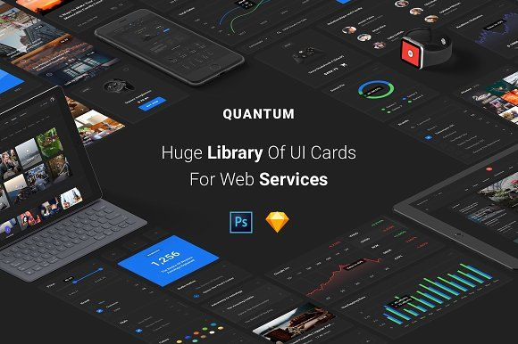 Quantum Kit, 600+ Cards, 100+ Pages by Spline on @creativemarket