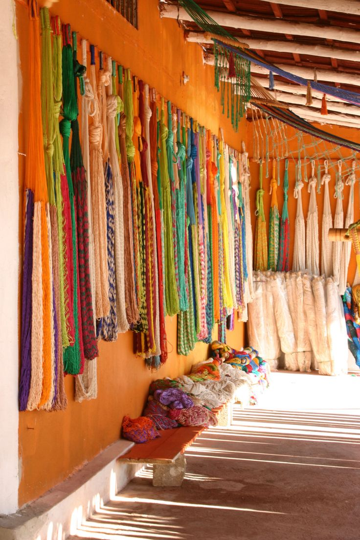 Tulum Yarn/Handmade Hammocks in Tulum Mexico. Photo available via MoonScapeDesign Etsy.