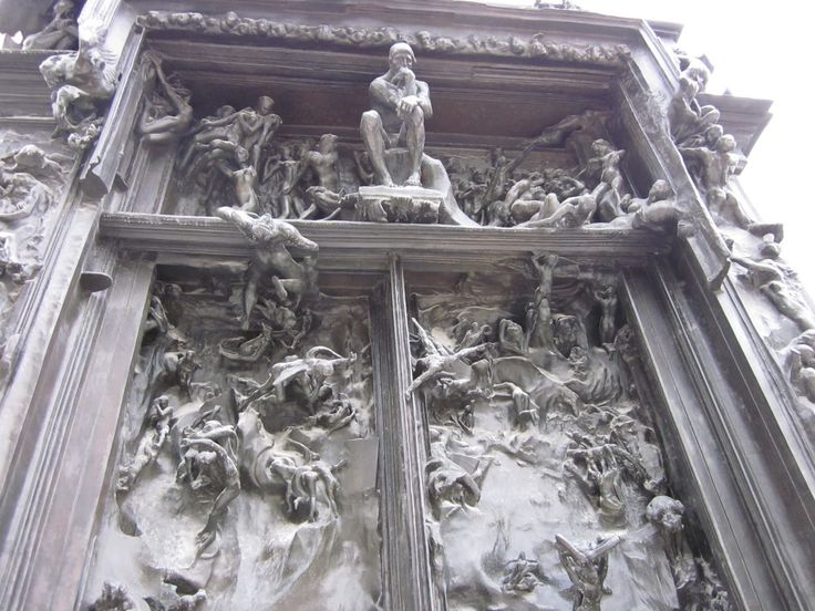 La porte de l 39 enfer rodin cerca con google scultura pinterest rodin and search - La porte de l enfer rodin ...
