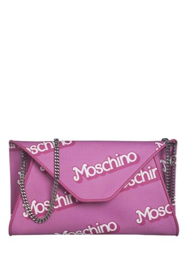 MOSCHINO - Shoulder Bag#alducadaosta #newarrivals #moschino #runway #capsule #collection #think #pink #style #fashion #cool #love #girl #women #apparel #accessories