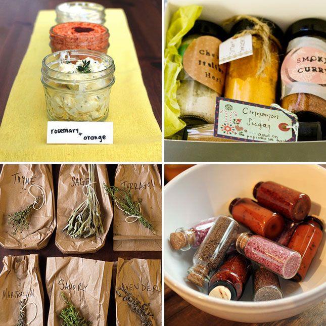 DIY Seasonings - perfect for homemade holiday gifts!