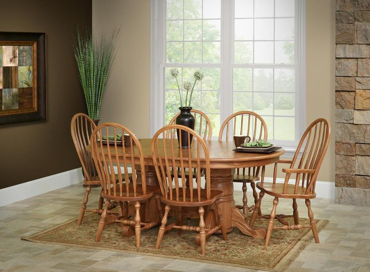 The Classic Look Of The Chateau Double Pedestal Table Blends Well, With A  Warm And Inviting Demeanor, Itu0027s A Classy Addition To The Family.