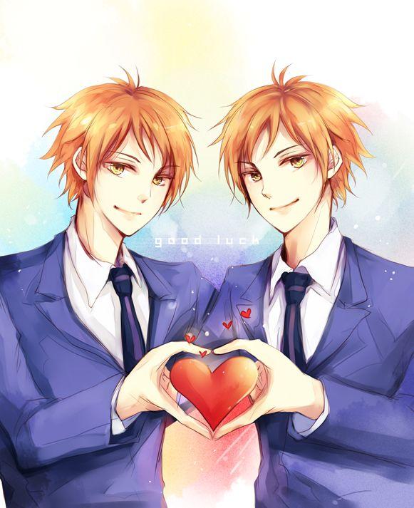 Tags: Anime, Ouran High School Host Club, Hitachiin Kaoru, Hitachiin Hikaru, Zaphylla, Hitachiin Twins