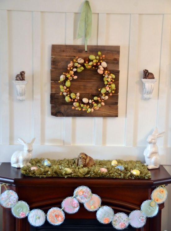 Find this Pin and more on Easter   Mantels  Decoration. 59 best Easter   Mantels images on Pinterest