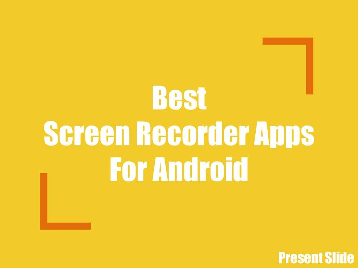 Here is a list of Best Free Screen Recorder Apps for your Android Mobile. The…