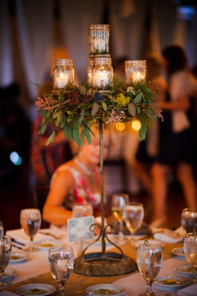 mason jar wedding decorations 39 best images about candelabras on receptions 5734