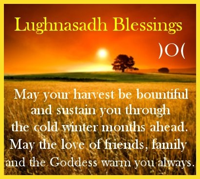 Lammas/Lughnasadh/First Harvest Blessing )O(