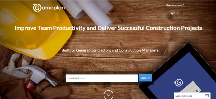 GamePlan is a web-based construction management software. Which is designed to make things smoother  for your construction projects, with which you can  easily connect and manage your team and work. Visit Us (http://www.gameplancloud.com)
