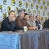 Adam Baldwin, Nathan Fillion, Sean Maher, Alan Tudyk, Joss Whedon and Summer Glau at event of Firefly