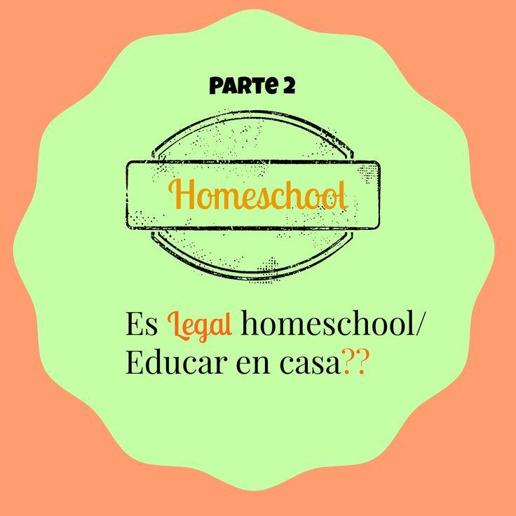 Es legal hacer Homeschooling??