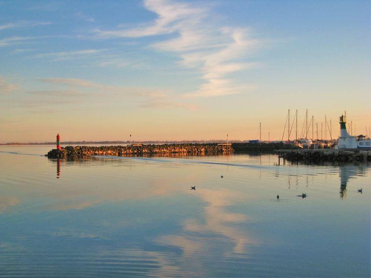 Marseillan Port by Sara Spencer