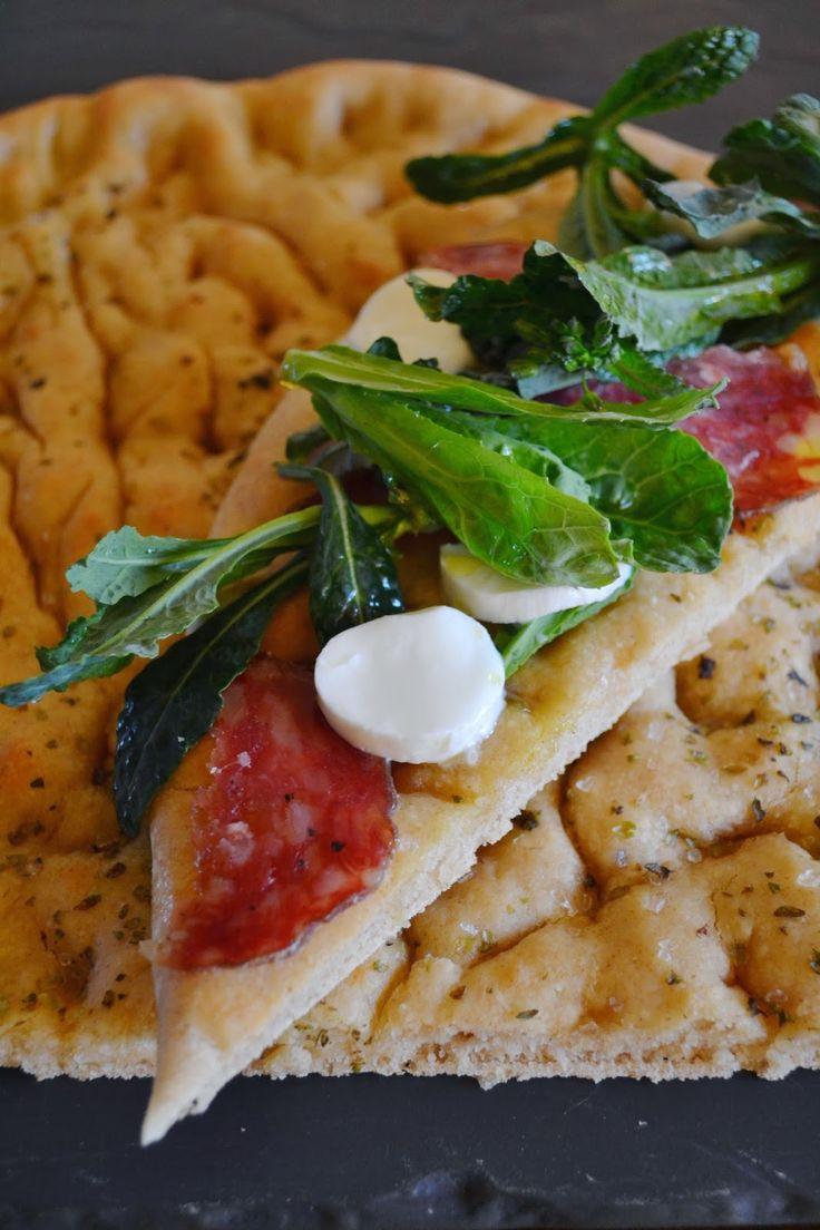Cucina di Barbara: food blog - blog di cucina ricette: Ricetta focaccia con cavolo nero e mozzarella