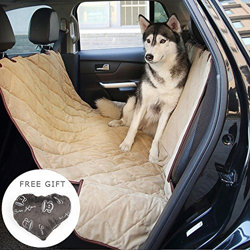 Dog Seat Cover Pawow Deluxe Heavy Duty Pet Cat Hammock  Nonslip Backing Quilted Side Flaps Waterproof Machine Washable Fit for SUVs Cars Trucks & Vehicles  X-Large Beige For Sale https://dogtrainingcollar.co/dog-seat-cover-pawow-deluxe-heavy-duty-pet-cat-hammock-nonslip-backing-quilted-side-flaps-waterproof-machine-washable-fit-for-suvs-cars-trucks-vehicles-x-large-beige-for-sale/