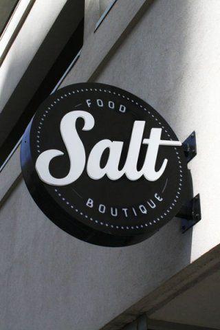 SALT Food Boutique: LED Signs