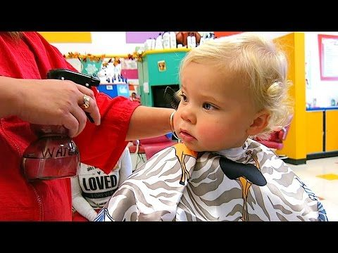 BABY'S FIRST HAIRCUT! - YouTube